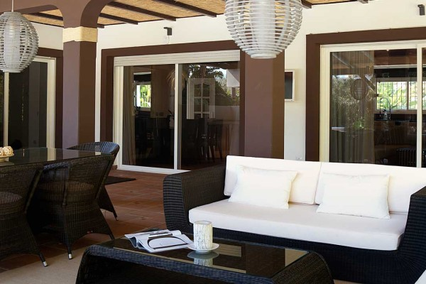 Terrace Furniture Interior Design